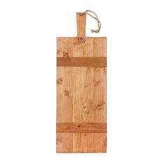 Pine Small Rectangle Pizza Board