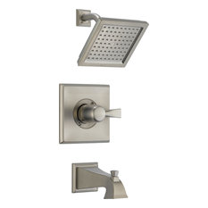 Delta Dryden Monitor 14 Series Tub and Shower Trim, Stainless Steel