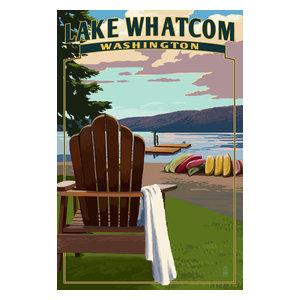 Super Deer Lake Washington Adirondack Chairs And Lake Print Bralicious Painted Fabric Chair Ideas Braliciousco