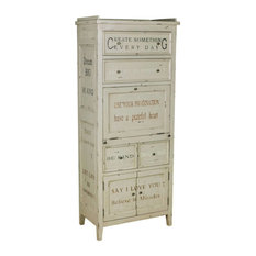 R2h Sentiments Accent Cabinet White Dressers