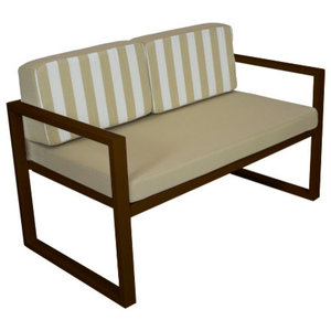 Outdoor Munich Sofa, Bronze