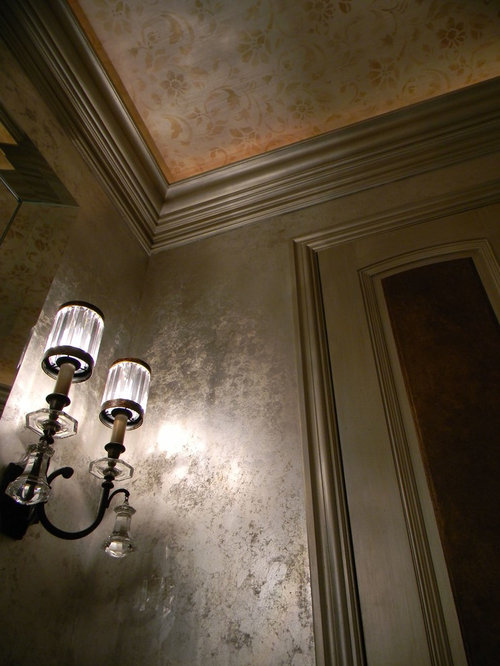 Silver Leaf Walls Ideas Pictures Remodel And Decor