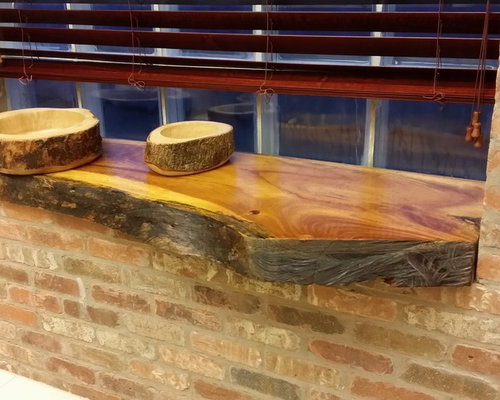 Wood Slab Counter Tops, Bar Tops, Kitchen Islands And Tables   Bathroom  Cabinets And