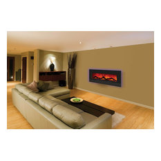 """Enhanced Series Wall Mount/Built-In Electric Fireplace, 48"""""""
