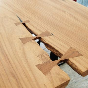 Allandale Park- Dining Table Detail