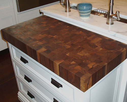 Walnut Butcherblock Countertop By Grothouse   Kitchen Countertops