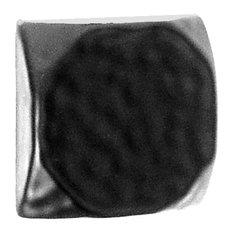 """Acorn 1-1/8"""" Square Clavos, Hammered Black Iron"""
