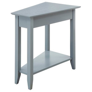 Wedge Chairside Table By Hammary Transitional Side