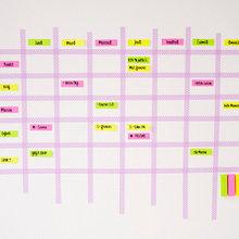 DIY : Créez un tableau mural pour organiser votre semaine