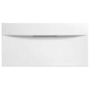 "27"" Imprint Rectangular Ceramic Above Counter Vessel Sink, No Overflow, White"