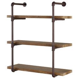Industrial Display And Wall Shelves  by Danya B.