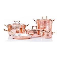 Copper Set 11 pcs, Tin Lining