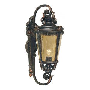 Weathered Bronze Wall Lantern Large - 1 x 150W E27