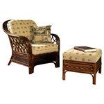 Coco Cay Rattan Arm Chair And Rattan Ottoman Set, 641. $1,344.68. Cabana  Banana ...