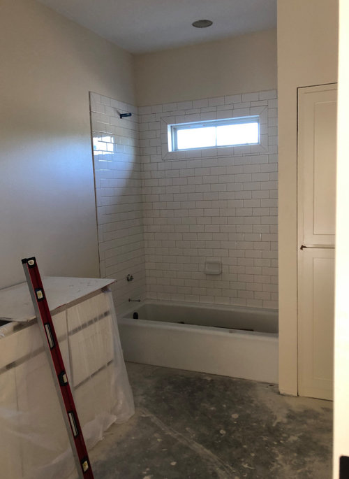 Subway Tile To Ceiling