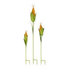 Imax Set Of 3 Corn Garden Stakes 23345-3