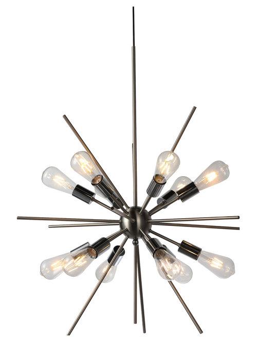 JL Styles Inc - Cronus 12-Light Pendant - Pendant Lighting