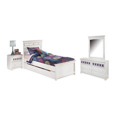 Signature Design by Ashley Zayley Bedroom Set With Twin Bed