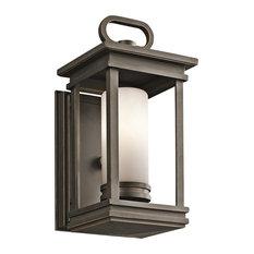 1-Light Wall Lantern, Rubbed Bronze, Small