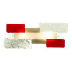 Arrabiate Murano Glass Wall Light