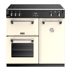 Richmond Deluxe S900EI 90 cm Electric Induction Range Cooker, Cream