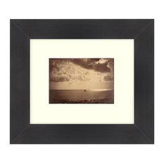 """""""The Brig"""" Sepia Tone Framed Photo, 22""""X28"""""""