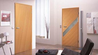 Diagonal Grain Doors