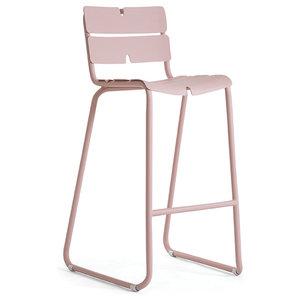OASIQ CORAIL Bar Chair, Gray, No Cushions