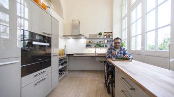 behindertengerechte Küche