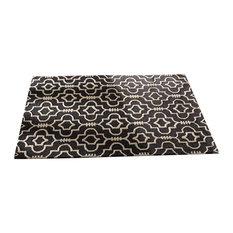 Moorish Morocco Rug, Charcoal, 200x290 cm