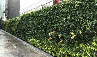 Living Green Walls @ Patina Hotel,Capitol,Singapore