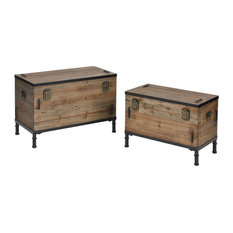 Polo Storage Chests Set Of 2