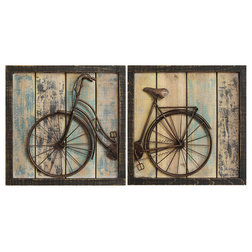 Industrial Wall Accents by Stratton Home Decor
