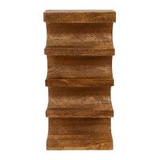 Wall Mounted Wooden Wine Rack