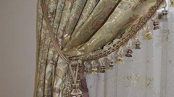 Текстильное оформление спальни