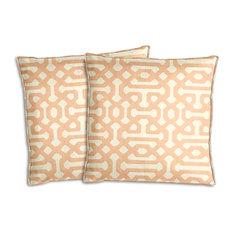 Sunbrella Fretwork Cameo Pillow Set
