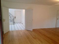 Trennwand Einziehen Ohne Fußboden Parkett Zu Beschädigen ~ Wohnzimmer mit carrara marmor rausreißen und parkett legen