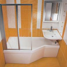 - Raumsparwanne 170 - Badewanne