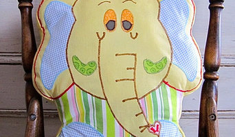 Baby pillows,Yellow Elephant, Decorative and Fun Cushions for Kids roo