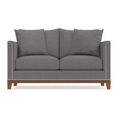 """La Brea Apartment Size Sofa, Ash, 60""""x39""""x31"""""""