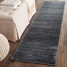 """Residence - Powell Runner Rug, Gray, 2'2""""x8' - Hall and Stair Runners"""
