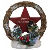 Light Up Christmas Bird Decoration