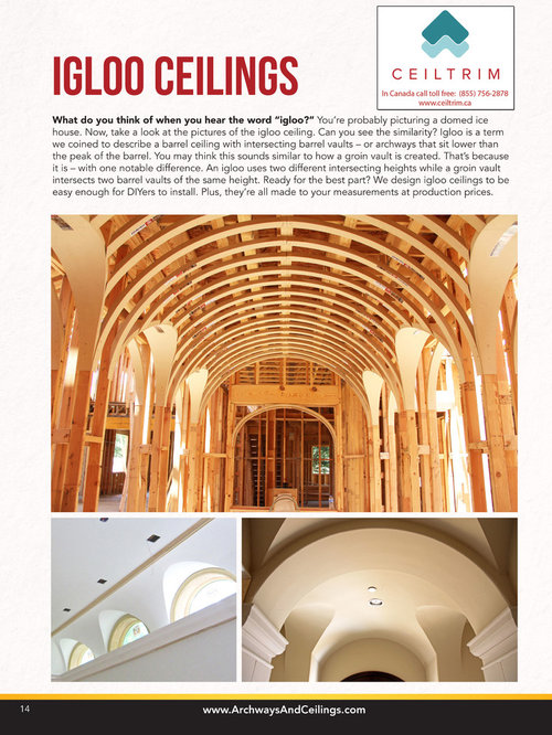 Archways Ceilings Made Easy Acme 2015 Catalog