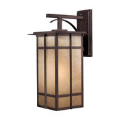 Minka Lavery Outdoor 71193-A357-PL Delancy Iron Oxide 1-Light Wall Sconce