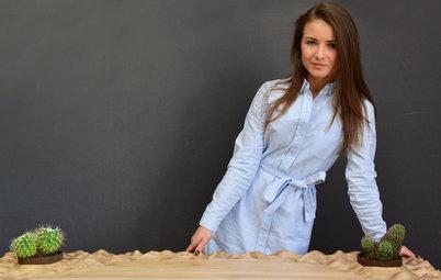Портрет: Столешница-пустыня и кресла-хамелеоны Екатерины Любимовой