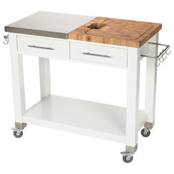 Beautiful Contemporary Kitchen Islands And Kitchen Carts by Chris u Chris