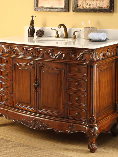 Antique Bathroom Vanities - Bathroom Vanities And Sink Consoles - Antique Bathroom Vanities