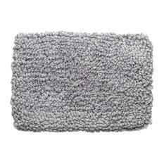 Nuvola Cotton Bath Mat, Grey