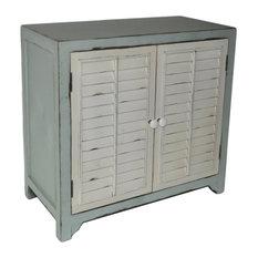 Coastal Shutter Door Cabinet