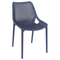 Compamia Air Dining Side Chair, Set of 2, Dark Gray